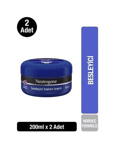 Neutrogena Norveç Formülü Besleyici Bakım Kremi 200 Ml X 2 Adet Renksiz